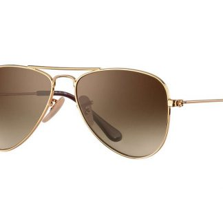 Ray-Ban 9506S Aviator Junior 223 / 13 Brown Gradient Sonnenbrille