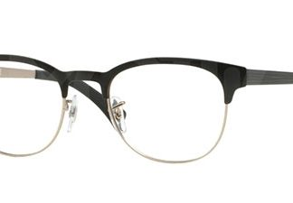 Ray-Ban New Clubmaster Lesebrille Black on Matt Silver