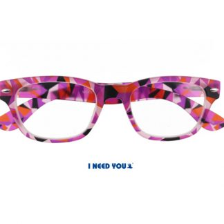 Woody Crazy Lesebrille Rot